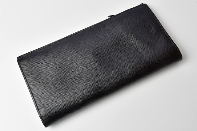 PRADA プラダ 2折長財布